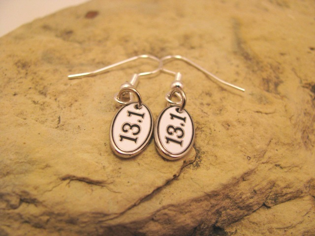 13.1 or 26.2 earrings