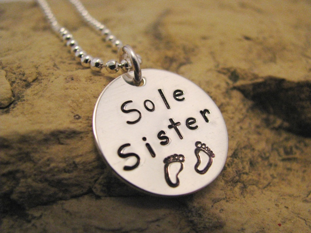 Sole Sister Sterling Silver Charm