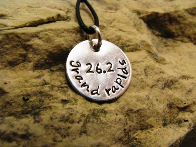 Distance and City sterling silver charm