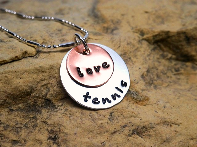 love tennis - jewelry for athletes
