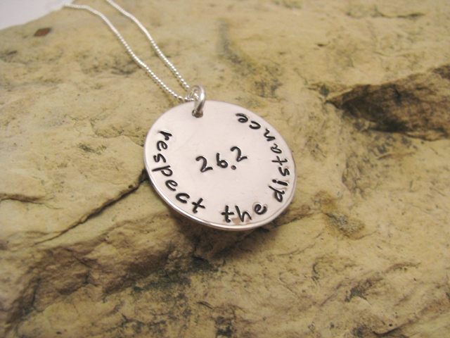 respect the distance - motivational charm