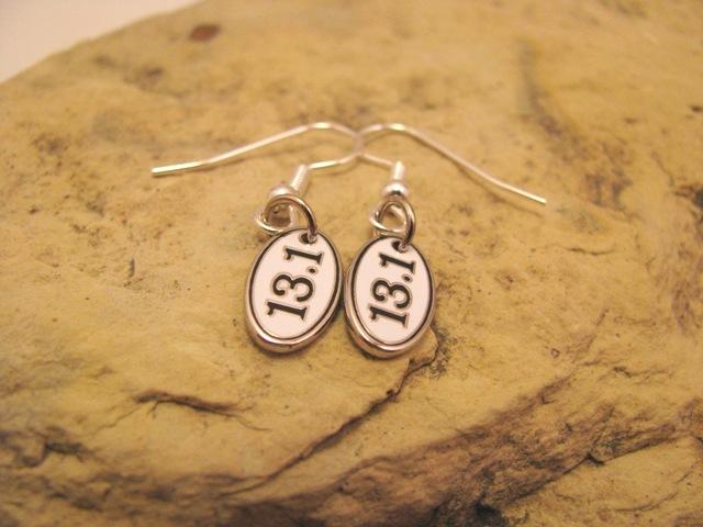 13.1 or 26.2 earrings