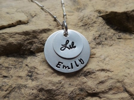 Big or Lil Sis and Custom Name - Sorority Charms, all silver
