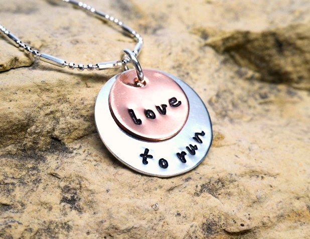 love to run - jewelry for runners