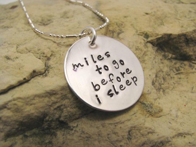miles to go before i sleep - large